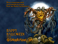 You Don't Scare Jack 2004 Hallowe'en Desktop Wallpaper from SinisterVisions.com