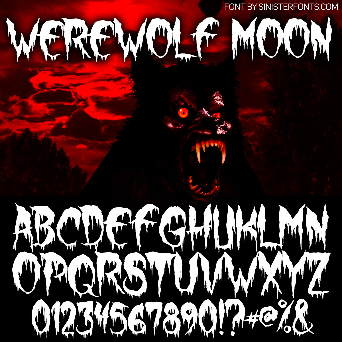 Werewolf Moon Font : Click to Download
