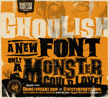 Ghoulish Font : Click to Download
