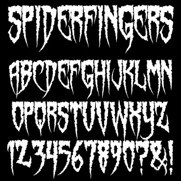 Spiderfingers Font : Click to Download